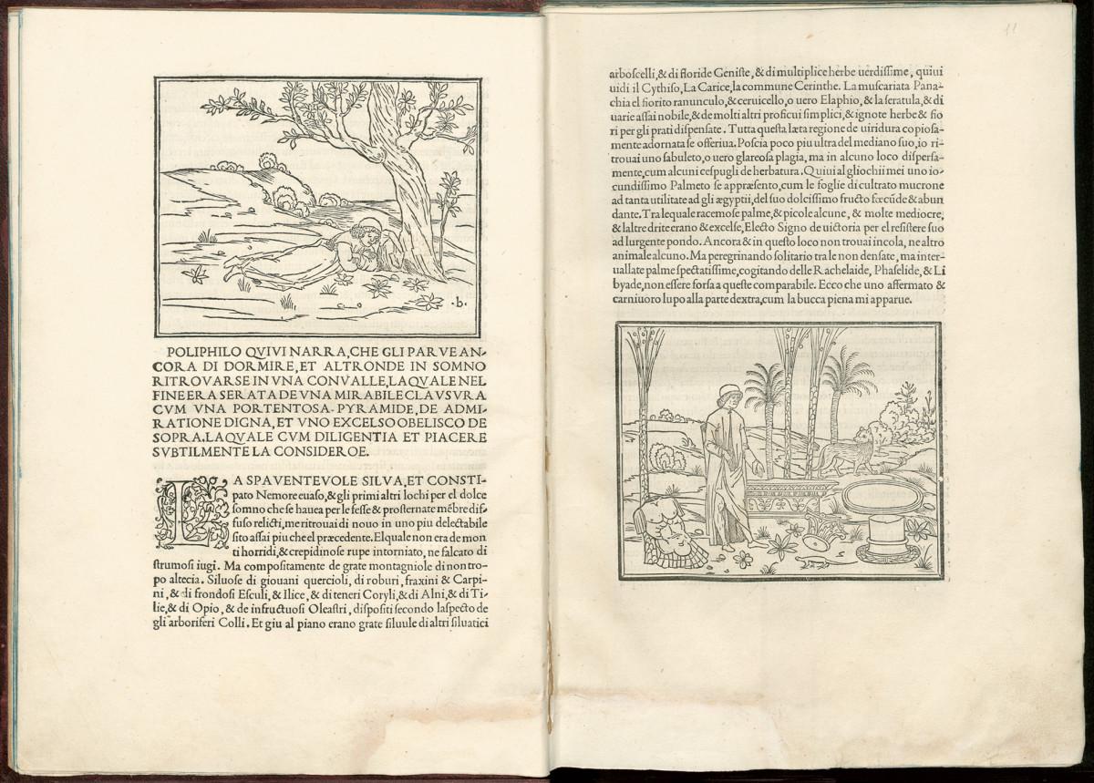Hypnerotomachia Poliphili, Aldo Manuzio, Venezia 1499